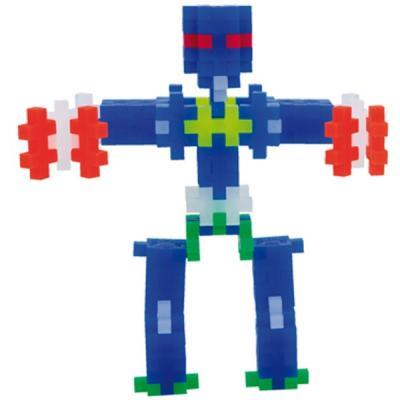 Фото - Конструктор 3D Plus Plus Разноцветный конструктор для создания 3D моделей(робот коричневый) 70 элементов конструктор nd play автомобильный парк 265 608