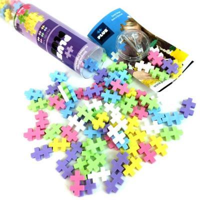 Конструктор 3D Plus Plus Разноцветный конструктор для создания 3D моделей, пастель 100 элементов электровыбивалка krausen plus
