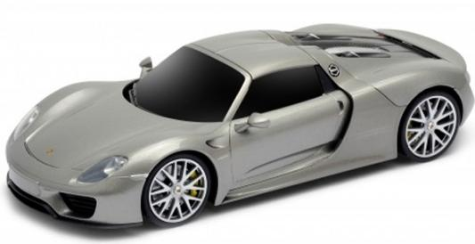 Автомобиль WELLY Porsche 918 Spyder пластик, металл от 4 лет серебристый автомобиль welly porsche cayman s 1 24