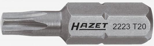 Насадка (бита) HAZET TORX T25 2223-T25 шестигранный привод 8 (5/16) бита hazet torx t10 2223 t10