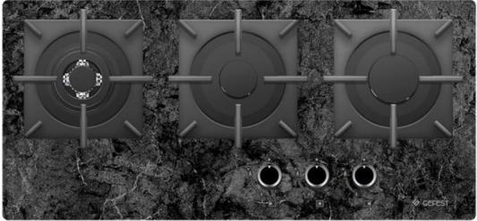Купить со скидкой Варочная панель газовая Gefest ПВГ 2150-01 К93 черный
