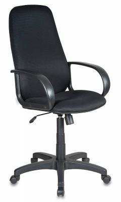 Кресло руководителя Бюрократ CH-808AXSN/LBL+TW-11 черный искусст.кожа/сетка кресло руководителя бюрократ ch 868axsn white белый