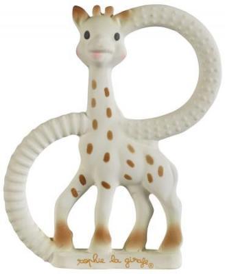 Прорезыватель Vulli Жирафик Софи с рождения разноцветный прорезыватель vulli жирафик софи 220123 натуральный каучук