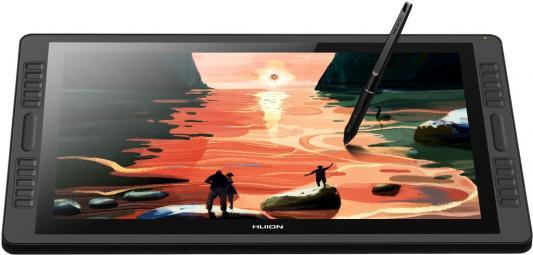 Планшет для рисования Huion Kamvas PRO 22 USB черный планшет