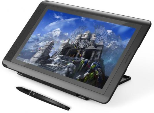 Планшет для рисования Huion GT-156HD USB черный планшет ginzzu gt 7210