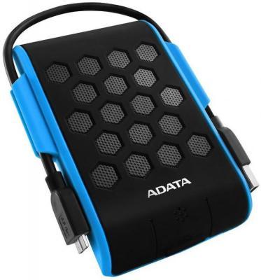 Фото - Жесткий диск A-Data USB 3.0 1Tb AHD720-1TU31-CBL HD720 DashDrive Durable (5400rpm) 2.5 синий внешний жесткий диск a data usb 3 0 2tb ahd720 2tu3 cbl