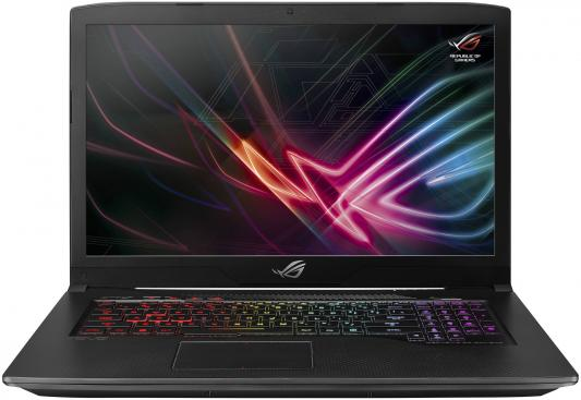 Ноутбук Asus GL703GE-GC100T i7-8750H (2.2)/16G/1T+128G SSD/17.3 FHD AG IPS/NV GTX1050Ti 4G/noODD/BT/Win10 Black, Aluminum ноутбук lenovo yoga c930 13ikb i7 8550u 1 8 16g 1t ssd 13 9fhd ips touch int intel uhd 620 noodd fpr backlight bt win10 81c400arru песчаный