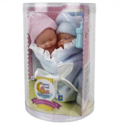 Пупс 1toy пупсики-близнецы в одеялке