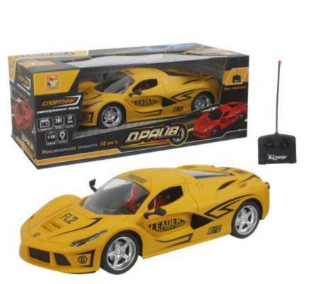 Машинка на радиоуправлении 1toy Драйв пластик, металл от 5 лет желтый игрушки на радиоуправлении 1toy драйв