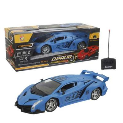 Машинка на радиоуправлении 1toy Драйв пластик, металл от 5 лет синий игрушки на радиоуправлении 1toy драйв