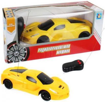 Машинка на радиоуправлении 1toy Спортавто пластик, металл от 5 лет желтый внедорожник на радиоуправлении 1toy хот вилс багги желтый от 3 лет пластик т10982