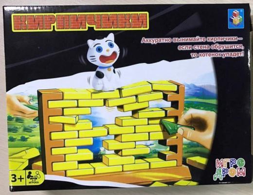 Купить Настольная игра 1toy логическая Кирпичики , н/д, Игры для компании