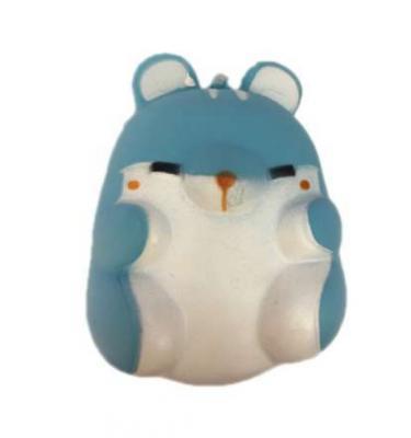 Купить Антистрессовая игрушка хомячок 1toy Хомячок полимер 9, 5 см, разноцветный, Интерактивные мягкие игрушки