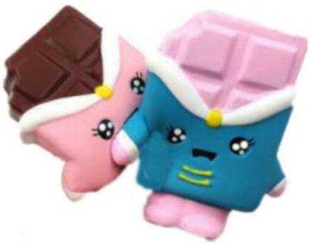 Антистрессовая игрушка шоколадка 1toy М-м-мняшка. Шоколадка полимер андрей никитин шоколадка на