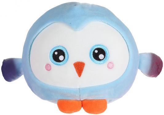 Мягкая игрушка пингвин 1toy Т14349 текстиль голубой 20 см мягкая игрушка 1toy южный парк стэн с чипом 12 см разноцветный текстиль т57485