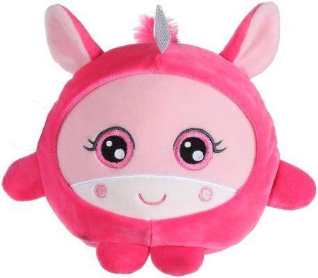 Мягкая игрушка единорог 1toy Т14350 текстиль розовый 20 см мягкая игрушка 1toy южный парк стэн с чипом 12 см разноцветный текстиль т57485