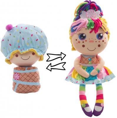 Мягкая игрушка кукла 1toy Девчушка-Вывернушка. Настюшка текстиль 38 см мягкая игрушка девчушка вывернушка ксюшка 2в1 23 38 см