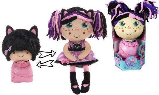 Мягкая игрушка кукла 1toy Девчушка-Вывернушка. Танюшка текстиль 38 см мягкая игрушка девчушка вывернушка ксюшка 2в1 23 38 см