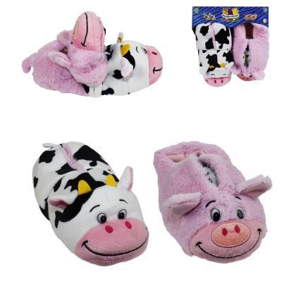 Вывертапки Корова-Свинья 1toy Корова-Свинья текстиль 31-33 см цена