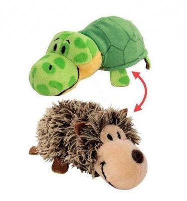 Вывернушка Еж-Черепаха 1toy 2в1 Ёжик-Черепаха плюш 12 см мягкие игрушки 1toy вывернушка тигр черепаха