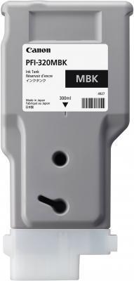 Картридж струйный Canon PFI-320 MBK 2889C001 черный матовый для Canon ТМ-серия картридж струйный canon pfi 120 bk 2885c001 черный для canon тм серия