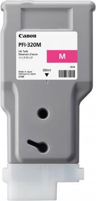 Картридж струйный Canon PFI-320 M 2892C001 пурпурный для Canon ТМ-серия картридж струйный canon pfi 120 bk 2885c001 черный для canon тм серия