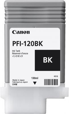 Картридж струйный Canon PFI-120 BK 2885C001 черный для Canon ТМ-серия картридж струйный canon pfi 120 bk 2885c001 черный для canon тм серия