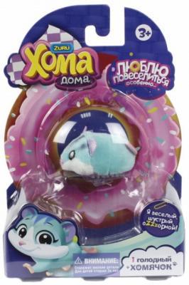 Купить Хома Дома 1 хомячок голубой, хомячок 5х3, 2х3 см, размер упак 17х12х5, 1, 1toy, унисекс, Прочие игровые наборы