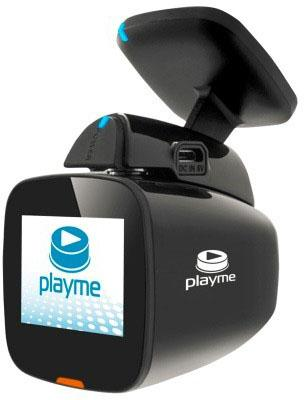 Видеорегистратор Playme UNI черный 2Mpix 1920x1080 1080p 150гр. GPS NT(K)96658