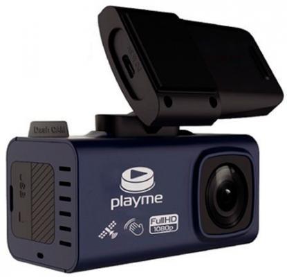 Видеорегистратор Playme TIO черный 2Mpix 1920x1080 1080p 150гр. GPS NTK96658 playme uni черный