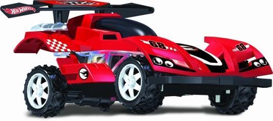 Купить Hot Wheels багги на р/у, cо светом, скорость до 17км/ч, с АКБ, красная, 1toy, красный, Радиоуправляемые игрушки