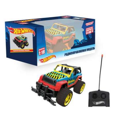 Внедорожник на радиоуправлении 1toy Hot Wheels Внедорожник пластик от 3 лет разноцветный игрушки на радиоуправлении 1toy hot wheels