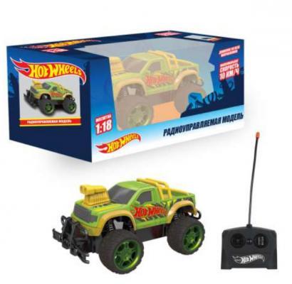 Внедорожник на радиоуправлении 1toy Внедорожник пластик, металл от 3 лет зелёный военный автомобиль на радиоуправлении tongde в72398 пластик от 3 лет зелёный