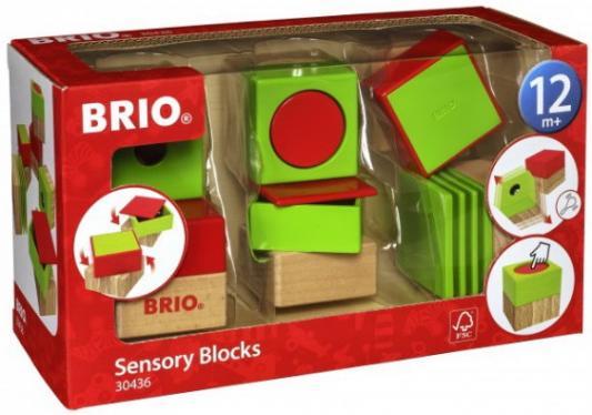 Купить BRIO развивающие кубики (6 элементов) 15х10х5 см., кор. 25х14х10 см., Деревянные кубики