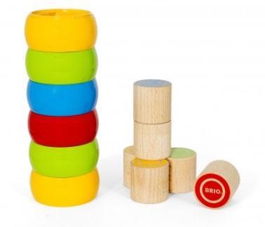 Деревянная игрушка Brio Сборная башенка цена