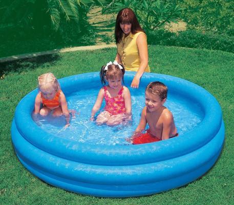 Надувной бассейн Intex Кристалл с58446