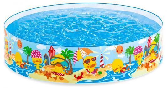 Каркасный бассейн Intex Утиный риф с58477 каркасный бассейн intex 450х220х85 см