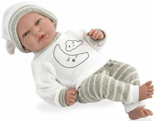 Купить Пупс Arias Elegance 40 см плачущая, винил, текстиль, Классические куклы и пупсы