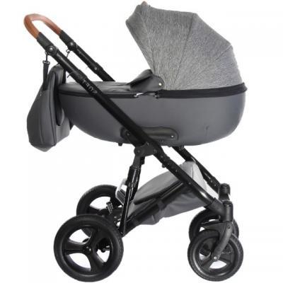 Коляска 2-в-1 Everflo Soft (graphite) б\\у, без упаковки коляска модульная vikalex ferrone 2 в 1 leather white vi72301