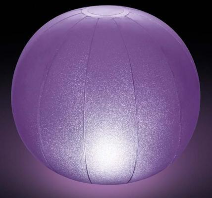 н.мяч с иллюмин.4цв. 23х22см