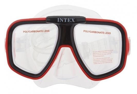 Спортивная игра Intex Маска для плавания Риф набор маска с трубкой и ластами intex 55959