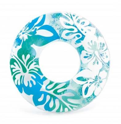 Надувной круг Intex Clear Color с59251