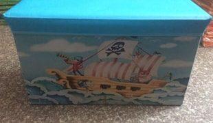 Корзина Пират, 60*30*35 см, пакет