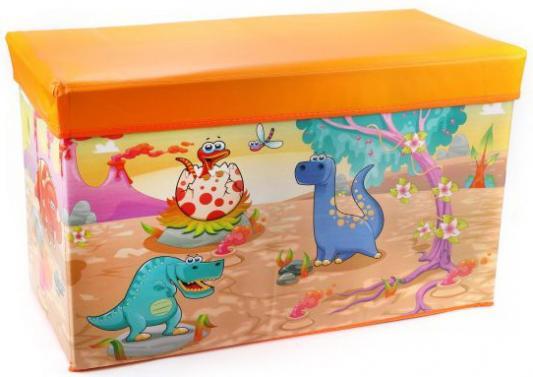Корзина Динозаврики, 60*30*35 см, пакет