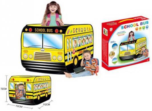 """Палатка Наша Игрушка """"Школьный автобус"""" игрушка технопарк школьный автобус x600 h09007 r"""
