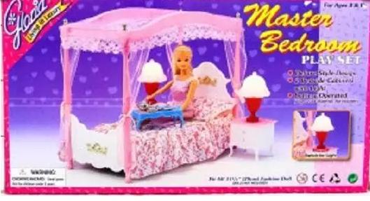 Мебель для кукол Наша Игрушка Спальня краснокамская игрушка мебель для кукол магазин с четырьмя ящичками