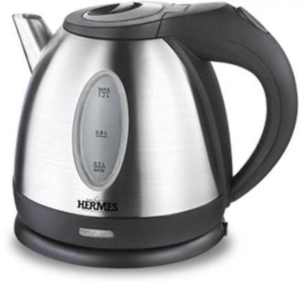 Купить Чайник электрический Hermes Technics HT-EK110L 1500 Вт серебристый 1.2 л нержавеющая сталь
