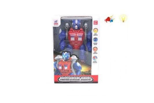 Купить Робот электронный Наша Игрушка Робот со звуком светящийся стреляющий, Игрушки Роботы