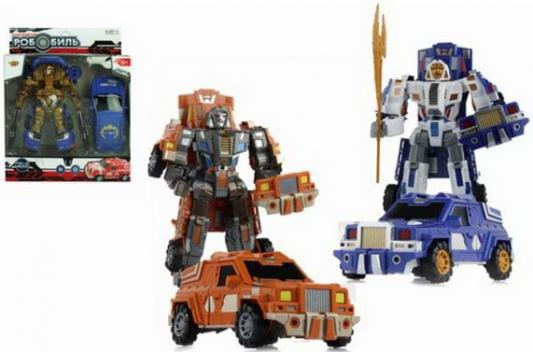 Купить Трансформер Наша Игрушка Робот-машина со звуком светящийся в ассортименте, Игрушки Роботы