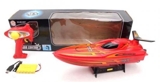 Купить Катер на радиоуправлении Наша Игрушка Катер пластик от 3 лет красный, Радиоуправляемые игрушки